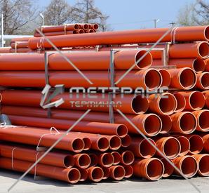 Труба канализационная в Екатеринбурге