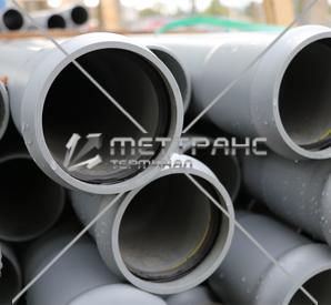 Труба канализационная 100 мм в Екатеринбурге